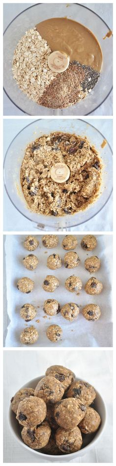 Nut Free Snack Balls perfect for school lunchboxes.  A healthy snack recipe your kids can help you make.  Vegan and gluten free.