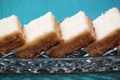 Lemon Weetbix Slice Lemon Recipes, Sweet Recipes, Baking Recipes, Bar Recipes, Citrus Recipes, Pudding Recipes, Sweet Desserts, Kitchen Recipes, Yummy Recipes