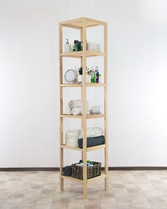 regał łazienkowy D-5, buk Shelving, Home Decor, Shelves, Decoration Home, Room Decor, Shelving Units, Home Interior Design, Shelf, Home Decoration