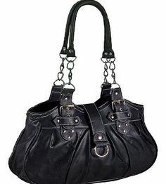 EyeCatchShoes EyeCatchBags - Huron Faux Leather Womens Shoulder Bag Handbag Black w White Stitch No description (Barcode EAN = 5053696042460). http://www.comparestoreprices.co.uk/handbags/eyecatchshoes-eyecatchbags--huron-faux-leather-womens-shoulder-bag-handbag-black-w-white-stitch.asp