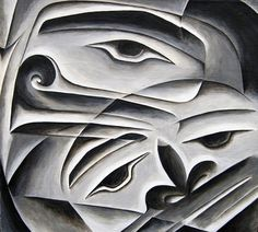 Northwest Coast Contemporary Tlingit art by Clarissa Rizal