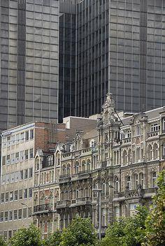 Place de Brouckere in Brussels