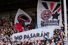 "IBMT on Twitter: ""Fans of Dublin's Bohemian FC say ¡No pasarán…"