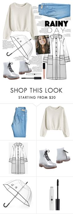"""I don't have a bag and even trouble, just my smile..."" by she-fashionlove ❤ liked on Polyvore featuring AG Adriano Goldschmied, Miu Miu, Colors Of California, Kate Spade and Witchery"