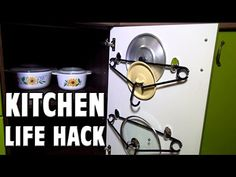 Kitchen Life Hack – Hangers. Today I'll show you the kitchen life hack how to make useful the kitchen door using a coat hangers. A little crazy idea for kitchen))