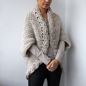 Ravelry: Very winter shrug cardigan pattern by Accessorise