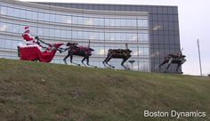 Boston Dynamics wishes you a terrifyingly happy holidayWhether you think holiday greeting cards are touching or annoying Boston Dynamics is celebrating the season just a little differently with this new video. Its robots have shown they are capable of navigating almost any environment with surprising speed and agility so now a few Spot units have been pressed into service as sleigh-pulling reindeer. As usual I'm torn between wishing one of those was waiting under my Christmas tree or…