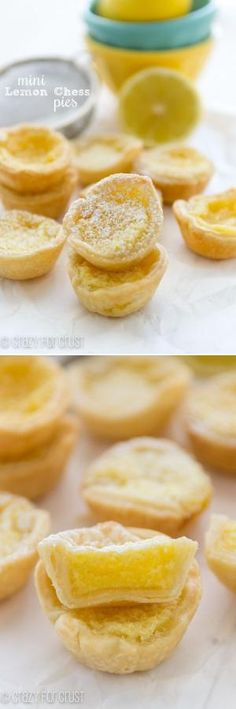 The PERFECT Mini Lemon Chess Pies! by veronicawasp