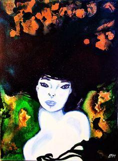 "EMM ART ~ youtube ~ ""India Inks Woman"""