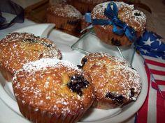 La buona cucina di Katty: Muffin ai mirtilli neri