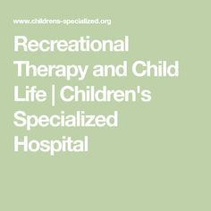 Recreational Therapist Job Duties Skills  Educational