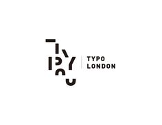A rebrand project for Typotalks London project is to design a typographic word mark/logo for TYPO London. The logo will go on T-shirts and attendee badges, as well as large posters. Logo should be designed in black and white. Typo Logo Design, Logo Design Trends, Web Design, Branding Design, 3d Logo, 2017 Design, Logo Word, Word Mark Logo, Letter Logo
