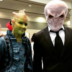 These brilliant creatures from Doctor Who. | 39 Costumes From Megacon That Will Blow Your Mind