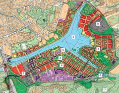 This new Stockholm suburb demonstrates how simple, robust, centralised systems can outperform flashy designs bristling with turbines. But can it work as a model for Gordon Brown's eco-towns? Gordon Brown, Urban Design Plan, Sustainable City, Ningbo, City Illustration, City Maps, Master Plan, Urban Planning, City Photo