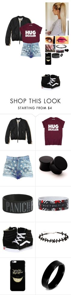 """""""Cameron Marshall #5"""" by alexishambleton on Polyvore featuring mode, Hollister Co., Hot Topic, Vans et West Coast Jewelry"""