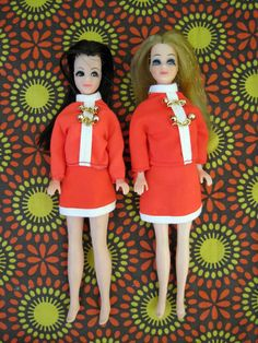1970s Topper Dawn doll and friend Angie by KitschyCuteBoutique, $28.00