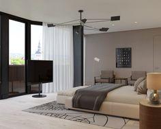 idée de meubles de chambre et déco de luxe