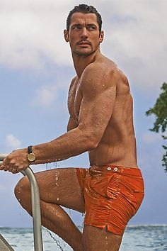 Marks & Spencer Men's Bathing Suits and David Gandy