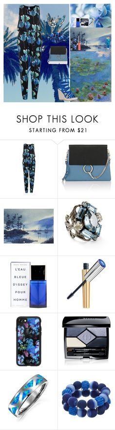"""""""Water Lilies"""" by oksana-kolesnyk ❤ liked on Polyvore featuring Dorothy Perkins, Chloé, NOVICA, Sorrelli, Issey Miyake, Stila, Rick Owens Lilies, Casetify, Christian Dior and Bling Jewelry"""
