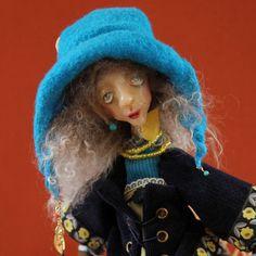 Art Doll Liane by puppenmagie on Etsy