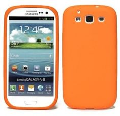 Orange Samsung Galaxy S 3 TPU case