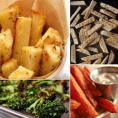 6 Guilt-Free Alternatives to French Fries! We'll see if they are any good :)