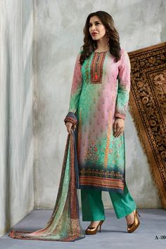 Ethnic Wear Wholesale Supplier|Wholesale Indian Festival Wear Embroidered Cotton Salwar Suit With Dupatta Indian Festivals, Festival Wear, Salwar Suits, Ethnic, Dresses With Sleeves, Long Sleeve, Cotton, How To Wear, Fashion