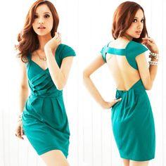 Sexy Cut Out Back Dress - $23.88 on @ClozetteCo