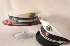 Police Hat Cake - Cake by doces projectos MU