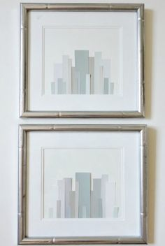 LiveLoveDIY: DIY Paint Chip Art