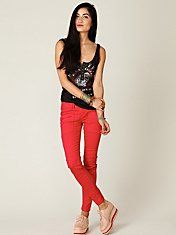 Free People FP Utility Jeans With Zippers #freepeople #fashion #clothing
