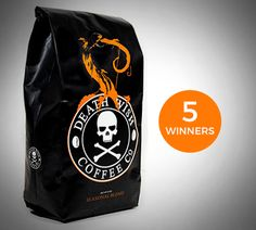 Win Death Wish Cauldron-Aged Pumpkin Coffee Before it's Available