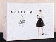 Un cadeau que l'on m'a offert à Noel : un abonnement de 3 mois My little Box
