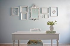 DIY-Shabby Chic Craft Room -Beautiful! Has all details & Tutorials !