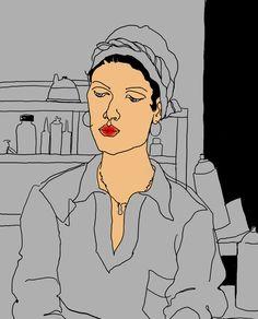 Illustration on Dripbook : : ALCINE P. | Line drawings | Las Vegas, NV, US