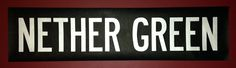 Nether Green bus blind