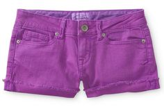 Our Top 10 Rainbow-Bright Denim Cutoffs Featuring These Shorts From Aeropostale