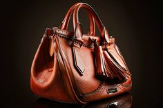 ♥☀· Burberry - Medium leather brogue tote bag