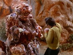 TOS: Al Pacino played the blob monster.