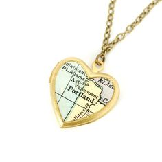 Portland Locket Necklace, $28, now featured on Fab.