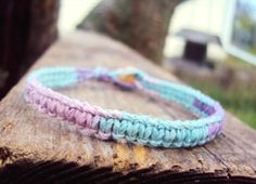 Hey, I found this really awesome Etsy listing at https://www.etsy.com/listing/115096778/pastel-goth-bracelet-hemp-jewelry-pastel