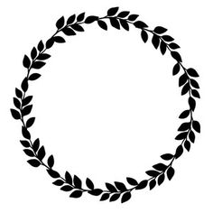 Silhouette Design Store: Vine Wreath This amazing wreath is the perfect design for this spring! Silhouette Design, Silhouette Projects, Vine Wreath, Wreaths, Kaktus Illustration, Boarder Designs, Wreath Drawing, Stencil Patterns, Silhouette Portrait