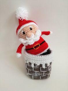 Sono felice di condividere l'ultimo arrivato nel mio negozio #etsy: BABBO NATALE con camino AMIGURUMI regalo originale Natale Santa Claus #giocattoli #rosso #natale #bianco #babbonatale #camino #amigurumi #uncinetto #originale http://etsy.me/2jbGtQC