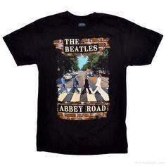 The Beatles  Abbey Road Brick T Shirt