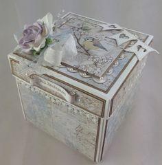 Kreativ Scrapping: Tutorial bryllups eksplosjonsboks