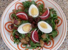 Insalata con uova www.nutriercol.it