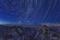 Yosemite National Park at night [1024x683][OC][OS]