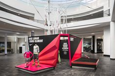 National Sports Day, Nike Retail, Interactive Exhibition, Nike Design, Experiential Marketing, Exhibition Booth Design, Retail Store Design, Fitness Design, Environmental Design