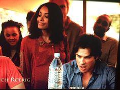 TVD Season 7 Bonnie and Damon
