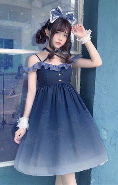 New Release: Tomy Bear 【-The Unicorn Constellations-】 Lolita Jumper Dress